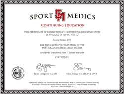 ATC CEU Certificate